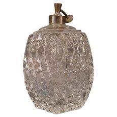 1890 Antique ABP American Brilliant Period Cut Lead Cut Crystal Perfume Scent Bottle