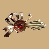 Harrry Isken Gold Filled Watch Pin Brooch