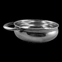 Vintage Antique Towle Sterling Silver Modernist Porringer Baby Bowl Dish