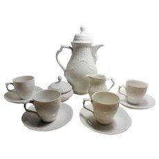 Rosenthal CLASSIC ROSE Collection Full Demitasse Set of 4
