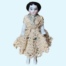 """All Porcelain """" Frozen Charlotte """" Doll"""