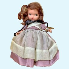 """American Painted Bisque """"STORYBOOK DOLLS """" Quaker Maid"""