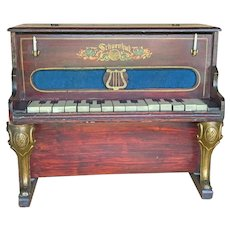 Rare Schoenhut upright toy piano