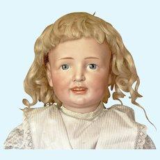 """Large (23"""", 58 cm) desirable Simon & Halbig 151 Character girl"""
