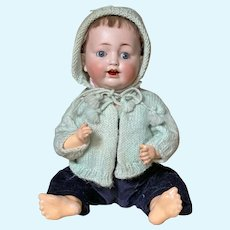 "Cute 11"" ( 28 cm) Koernig and Wernicke 99 Character baby"