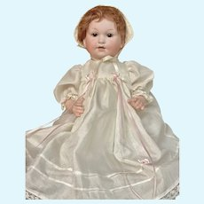 """Somewhat unusual 15"""" Armand Marseille 329 Character baby"""