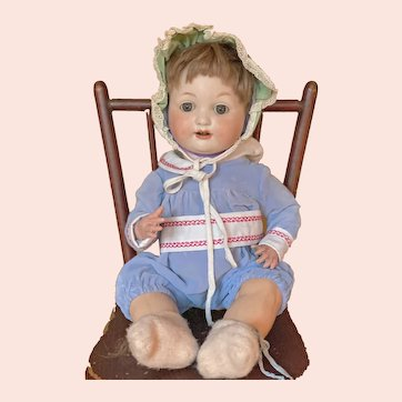 """17"""" Armand Marseille 985 Character Baby"""