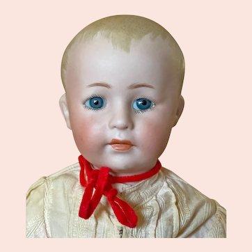 "rare small ( 12"" ) Simon & Halbig 1498 Closed Mouth Character boy"