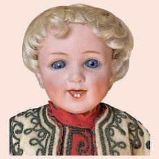 "Charming 15"" (38 cm) Gebruder Heubach 5636 character boy"