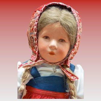 Cloth Käthe Kruse Doll VIII Deutsche Kind