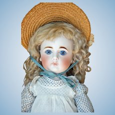 """Lovely Closed Mouth German """"Sonneberg""""-type Doll"""