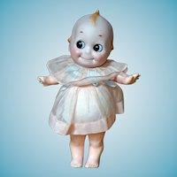 Rare JD Kestner Glass Eyed Kewpie on Composition Toddler Body