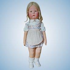 Rare Kathe  Kruse Doll I with Mohair Wig