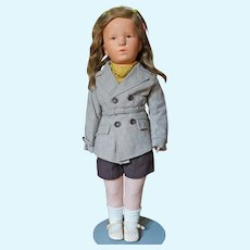 Kathe Kruse Deutsche Kind Girl All Original Excellent Condition