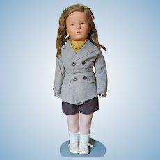 Kathe Kruse Deutsche Kind Girl All Original Excellent Condition