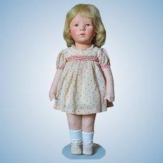 Very Nice All Original Smaller Size Kathe Kruse Deutsche Kind Girl