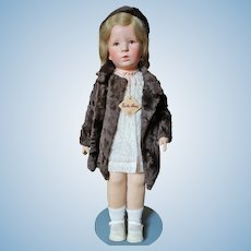 "Especially Nice and All Original Kathe Kruse Doll I ""Isebill"""