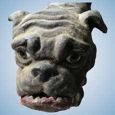 Wonderful roullet & Decamps bull dog, french circa 1890