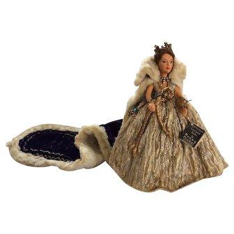 Wonderful Peggy Nisbet HM Queen Elizabeth ll doll, circa 1953