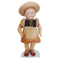 Rare! Armand Marsielle AM 210 Campbell Kid Type Googly Bisque Character All Original