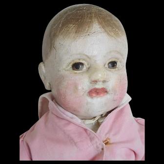 "J.B. Sheppard Philadelphia Baby 21"" Oilcloth Cloth Boy"