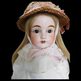 """Antique 24"""" Kestner 154 Bisque Shoulder Head Child"""