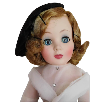 """Vintage 1950's American Character 19"""" Toni All Original in Country Club O/F"""