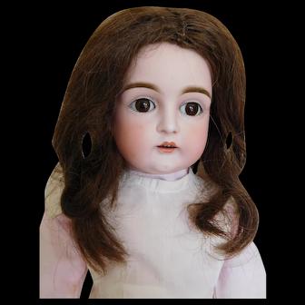 """18"""" Kestner 129 German Bisque Socket Head Child"""