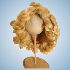"Gorgeous! Vintage 1930's Shirley Temple Mohair Wig Original Factory Set 13"" Head"