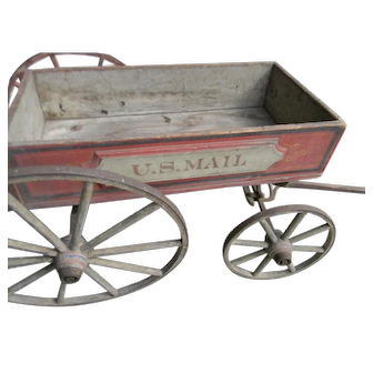 19th Century US Mail Cart