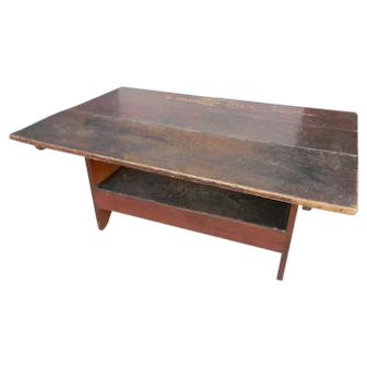 Early 19th Century Bench Table