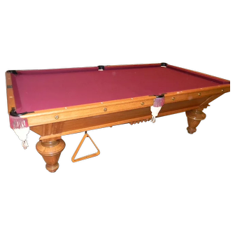 Antique American Billiard Table