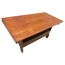 19th Century American Bench Table