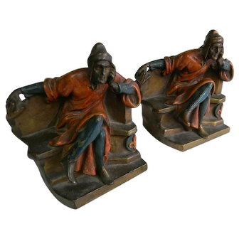Art Deco Bookends