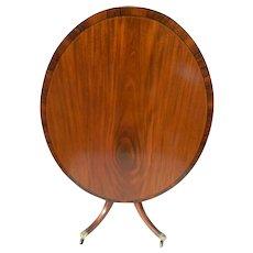 A Circa 1810 English Mahogany Breakfast Table