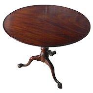Philadelphia Mahogany Tea Table