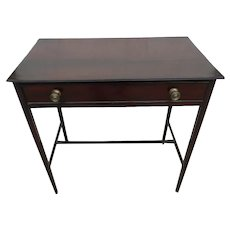 19th Century Mahogany Writing or End Table