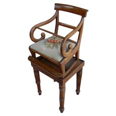 English Regency Youth or High Chair