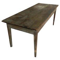 19th Century American Farm Table