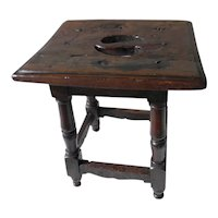 Early 18th Century Joint Stool