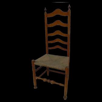 Delaware Valley Ladderback Side Chair