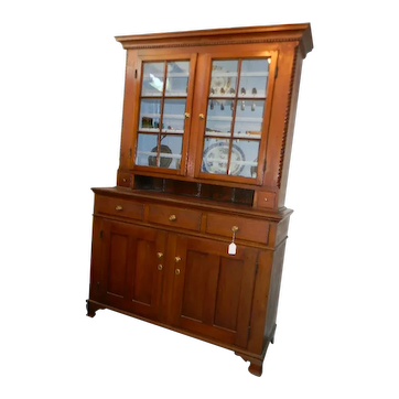 Antique Walnut Pennsylvania Cupboard