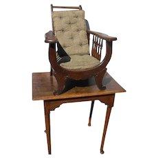 Children Size Oak Morris Chair