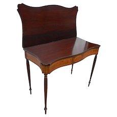 Circa 1810 American Game Table