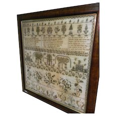 19th Century Needle Work Sampler