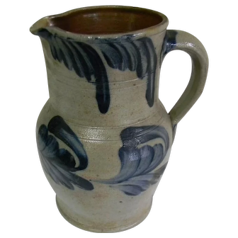 A 19th Century Philadelphia Stone Ware Pitcher