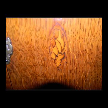 Circa 1800 Oak Welsh Cupboard or Dresser