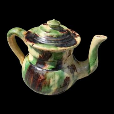 Whieldon Tea Pot
