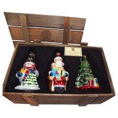 Thomas Pacconi Classics 2002 Christmas Ornaments in Box