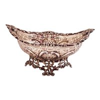 Sterling Silver intricate filigree bowl